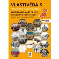 Vlastivěda pro 5.ročník ZŠ - Poznáváme naše dějiny - Z novověku do současnosti - učebnice
