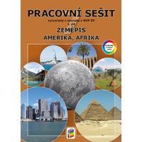 Zeměpis 7.ročník - 1.díl Amerika, Afrika - barevný pracovní sešit