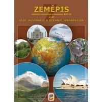 Zeměpis pro 7.ročník ZŠ (Asie, Austrálie a oceánie, Antarktida) - 2.díl učebnice