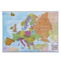 Evropa - nástěnná politická mapa 1:3 200 000 (obří -  š-186cm, v-135cm)