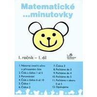 Matematické minutovky 1.ročník - 1.díl  MODRÁ ŘADA