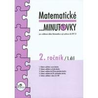 Matematické minutovky 2.ročník - 1.díl  MODRÁ ŘADA