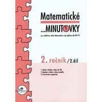 Matematické minutovky 2.ročník - 2.díl  MODRÁ ŘADA