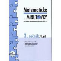 Matematické minutovky 3.ročník - 1.díl  MODRÁ ŘADA