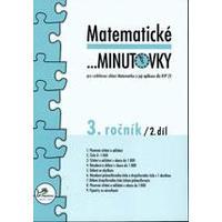 Matematické minutovky 3.ročník - 2.díl  MODRÁ ŘADA