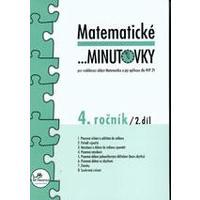 Matematické minutovky 4.ročník - 2.díl  MODRÁ ŘADA
