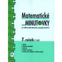 Matematické minutovky 7.ročník - 1.díl  MODRÁ ŘADA