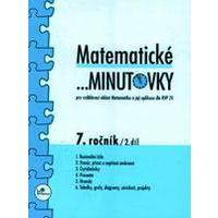 Matematické minutovky 7.ročník - 2.díl  MODRÁ ŘADA
