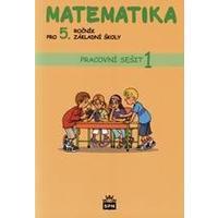 Matematika pro 5.ročník ZŠ - 1.díl pracovní sešit