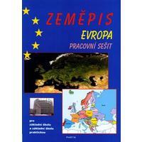 Zeměpis Evropa - pracovní sešit pro 2.stupeň ZŠ a ZŠ praktické