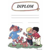 Diplom : Děti a psík  A4