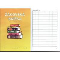 Žákovská knížka ŽLUTÁ - hodnocení a sebehodnocení 1.stup.i 2.stupeň, 32str.