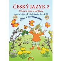 Český jazyk pro 2.ročník ZŠ se skřítkem Kvítkem - 2.díl pracovní sešit (čtení s porozuměním)