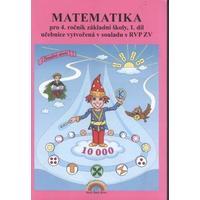 Matematika pro 4.ročník ZŠ - 1.díl učebnice