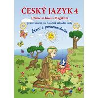 Český jazyk pro 4.ročník ZŠ s Magikem - pracovní sešit (čtení s porozuměním)