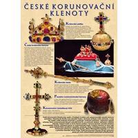 České korunovační klenoty - plakát 67x96 cm bez lišt