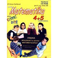 """Chytré dítě - Matematika  4. - 5.let (výukový CD-ROM) """"nakl. PACHNER"""""""