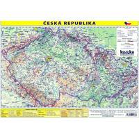 Česká republika - příruční mapa 1:1 700 000  (tabulka 1xA4)