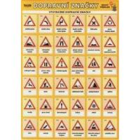 Dopravní značky - (tabulka 4xA5)