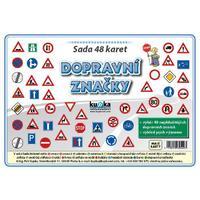 Dopravní značky - sada 48 karet A5