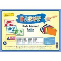 BARVY - (sada 24 karet A7)