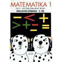Matematika pro 1.ročník ZŠ - 2.díl pracovní učebnice