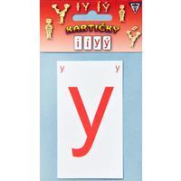 Kartičky s i/y   /8 kartiček/