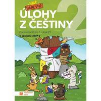 Barevné úlohy z češtiny pro 2.ročník ZŠ - pracovní sešit