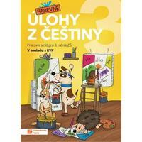 Barevné úlohy z češtiny pro 3.ročník ZŠ - pracovní sešit
