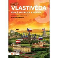 Hravá vlastivěda 5.ročník ZŠ (Česká republika a Evropa) - pracovní sešit