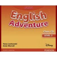 New English Adventure 2 - Class CD (1.stupeň ZŠ)
