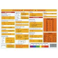 Fyzikální výpočty a vzorce - TABULKA A4