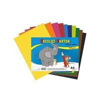 Kreslící karton A4/125g/10 listů MIX 10 barev