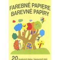 Barevné papíry A4/20 listů NELEPÍCÍ