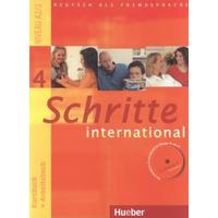 Schritte International 4 - Kursbuch + Arbeitsbuch mit Audio-CD zum Arbeitsbuch