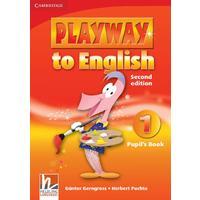 Playway to English British 1 (2Ed.) - Pupil's Book