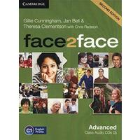 Face2Face Advanced (second edition) - Audio CDs (3ks)
