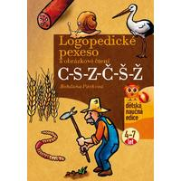 Logopedické pexeso a obrázkové čtení C-S-Z-Č-Š-Ž (děti 4-7let)