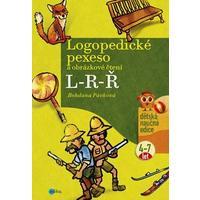 Logopedické pexeso a obrázkové čtení L-R-Ř (děti 4-7let) DOPRODEJ