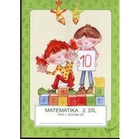 Matematika pro 1.ročník ZŠ - 2.díl učebnice