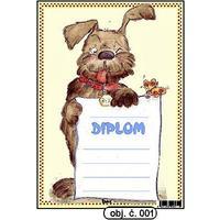 "Diplom A5 ""Pes"" (obj.č. 1)"