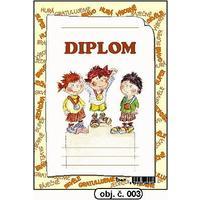 """Diplom A5 """"Stupně vítězů"""" (obj.č. 3)"""