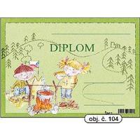 """Diplom A5 """"Stan""""   (obj.č. 104)"""