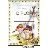 "Diplom A5 ""Indiáni Tee-Pee""    (obj.č. 105)"