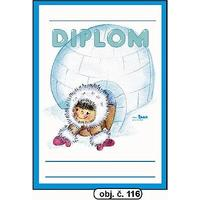 "Diplom A5 ""Iglů""  (obj.č. 116)"