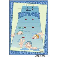 """Diplom A4 """"Plavci""""  (obj.č. 206)"""