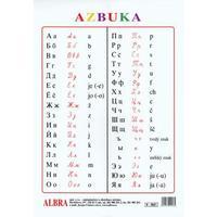 Azbuka -  plakát  /komplet - plakát, tubus,závěsy/  475x630 mm