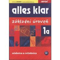 Alles Klar 1a (základní úroveň A1) - učebnice a cvičebnice pro 2.stupeň ZŠ