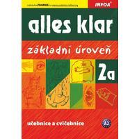 Alles Klar 2a (základní úroveň A2) - učebnice a cvičebnice pro 2.stupeň ZŠ