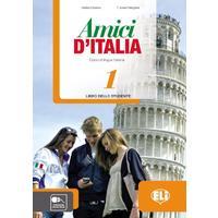 Amici di Italia 1 - Libro dello studente (italština 2.st. ZŠ a SŠ)  učebnice